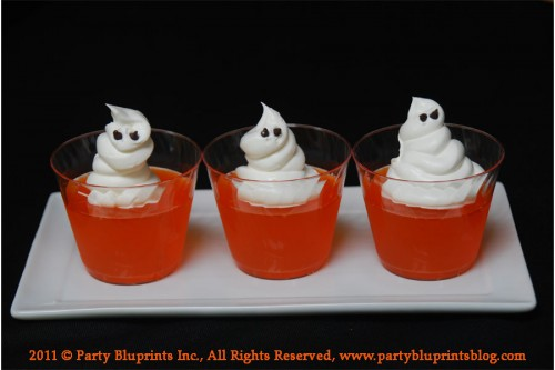 Ghoulish Ghost Jello Shots – PinLaVie.com