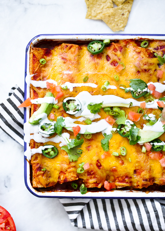 Gina-skinny-chicken-enchiladas-6