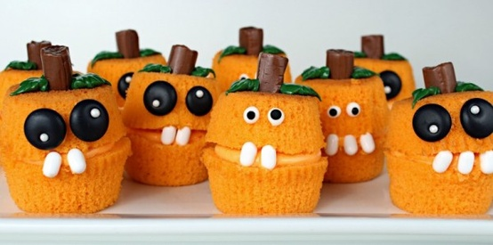 Pumpkin-cup-cakes