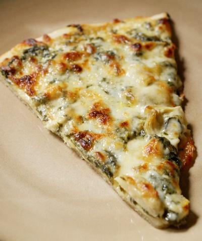 Homemade-spinach-artichoke-alfredo-pizza