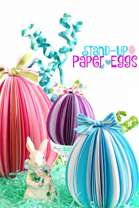 Stand-up-easter-eggs