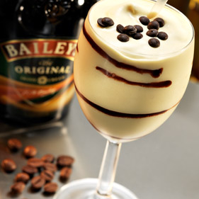 Mixed Drink Cream Chocolate Liquer