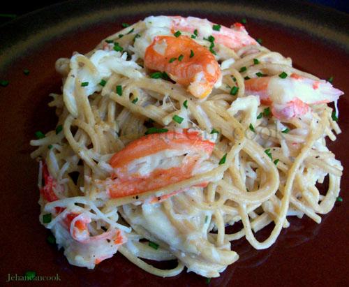 Crab Alfredo Pasta – PinLaVie.com