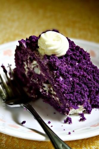 Purple Sweet Potato Cake – PinLaVie.com
