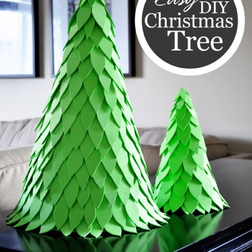 Wonderful Easy DIY Christmas Tree