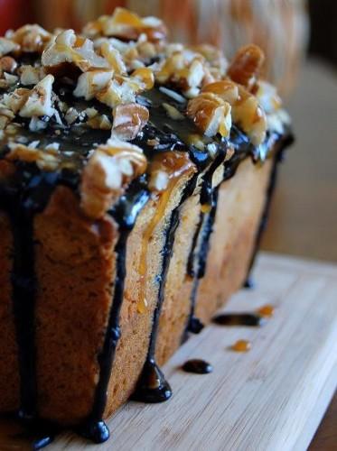 Pumpkin Caramel Cheesecake Turtle Bread – PinLaVie.com