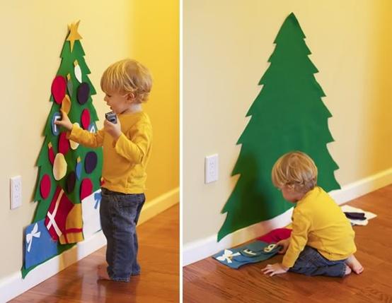 Kids Felt Christmas Tree – PinLaVie.com