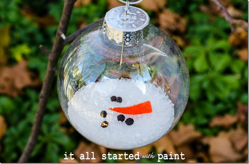 Melted Snowman Ornament Pinlavie Com