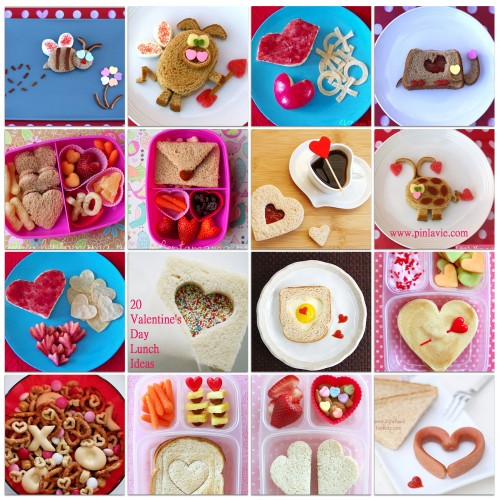 20 valentine's day lunch ideas – pinlavie, Ideas