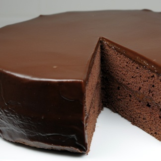 Flourless Chocolate Cake with Chocolate Glaze – PinLaVie.com