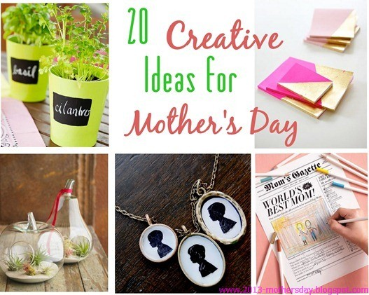 20 Creative Ideas For Mother 39 S Day