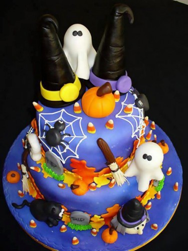 30 Halloween Cake Ideas PinLaViecom