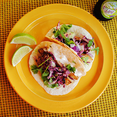 Fish tacos red cabbage slaw for Fish taco red cabbage slaw