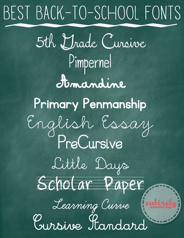 Best-back-to-school-fonts