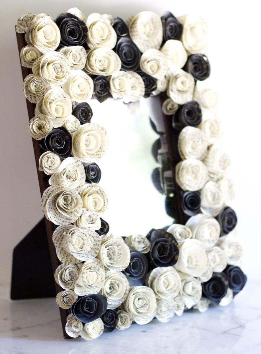 paper flower picture frame - Roho.4senses.co