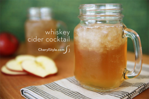 ... cider—you're on your way to a fresh, fall cocktail to enjoy with
