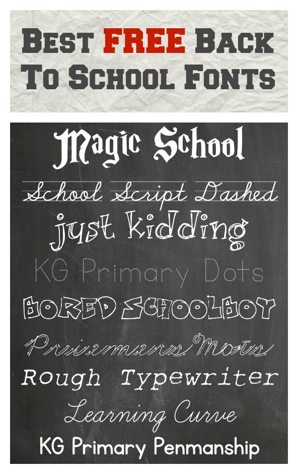 Best-free-back-to-school-fonts