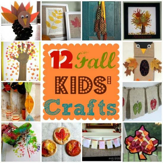 12 Fall Kids Crafts Pinlavie Com