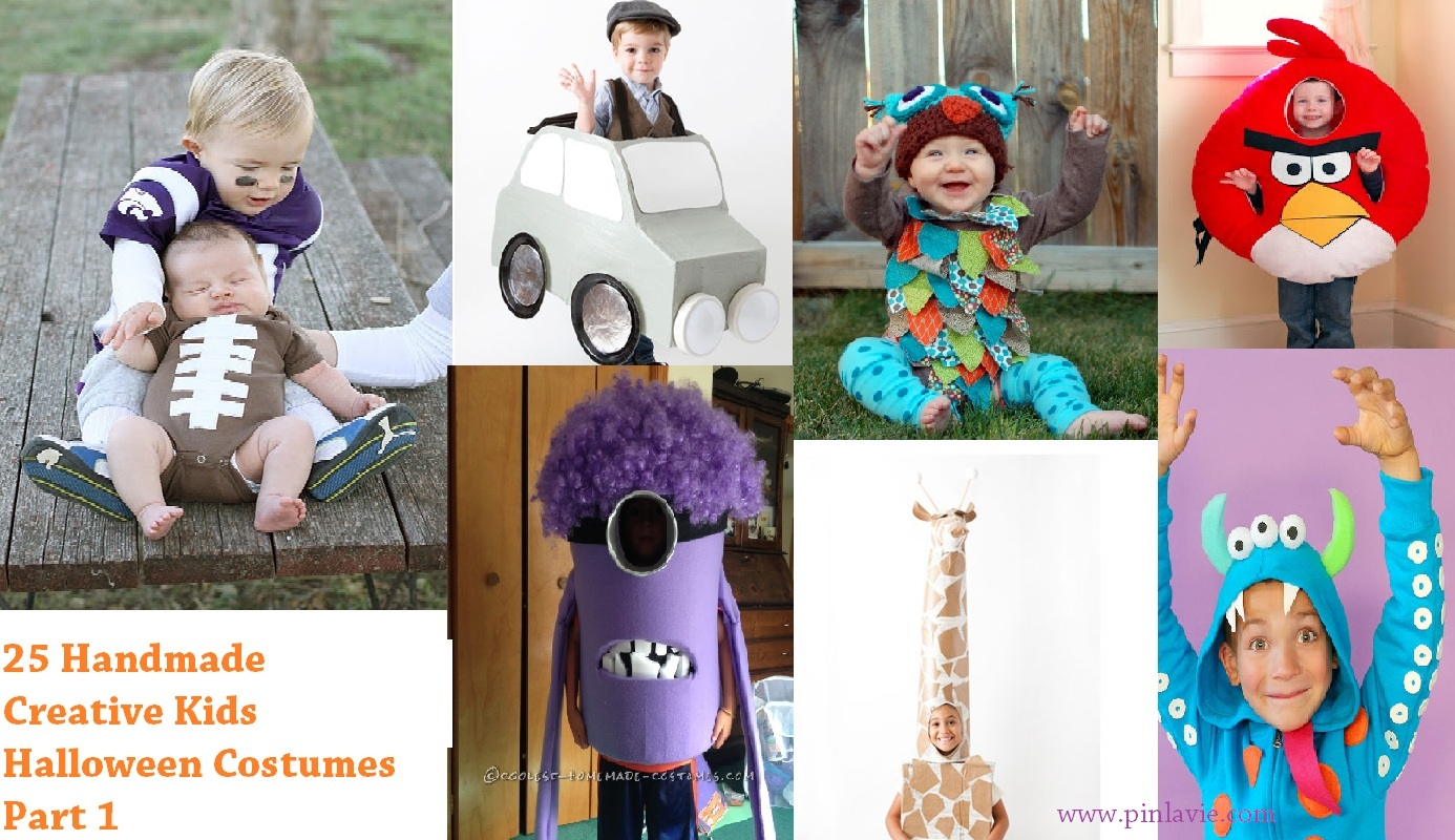 25 handmade creative kids halloween costumes part 1 for Creative halloween costumes for kids