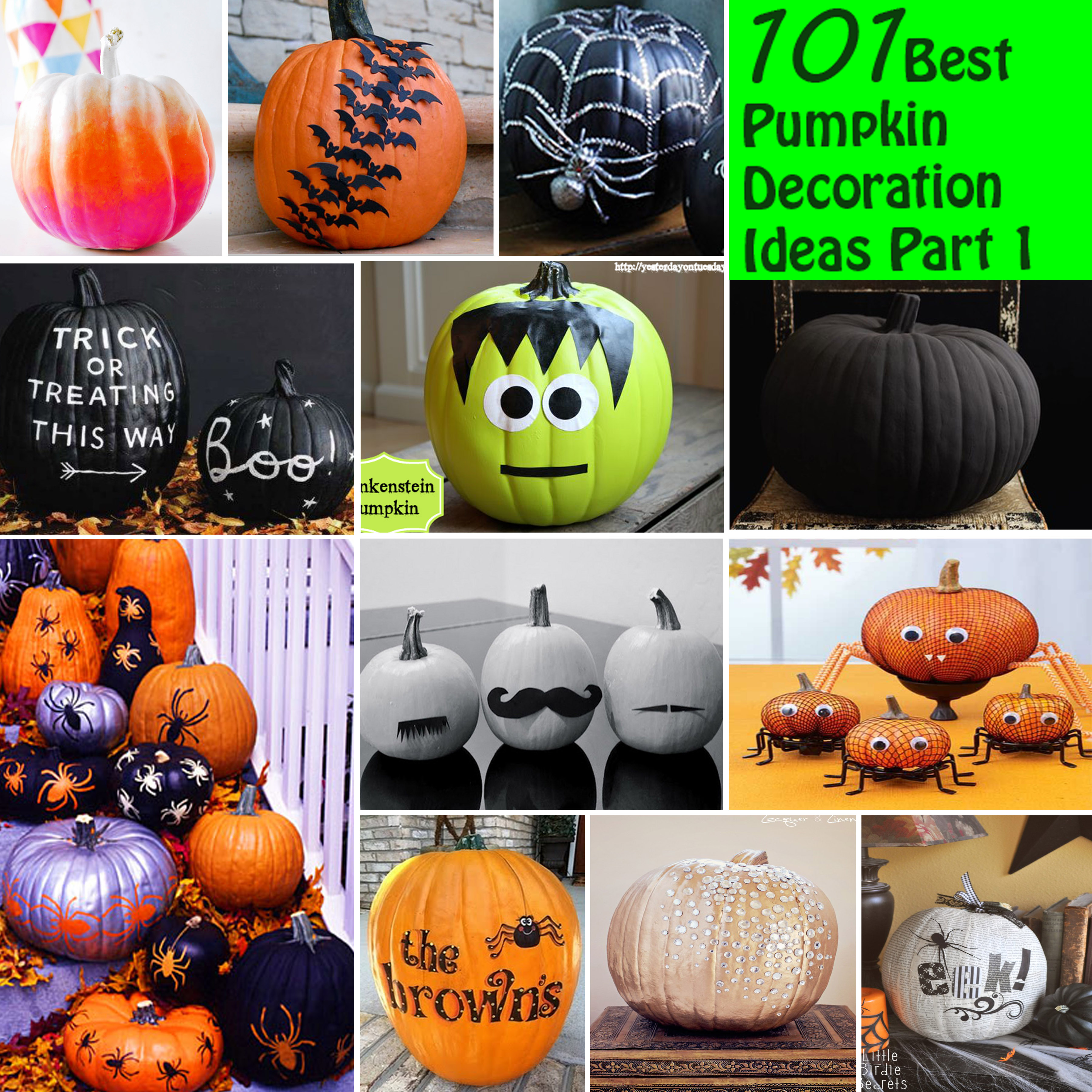 101 Best Pumpkin Decoration Ideas Part 1
