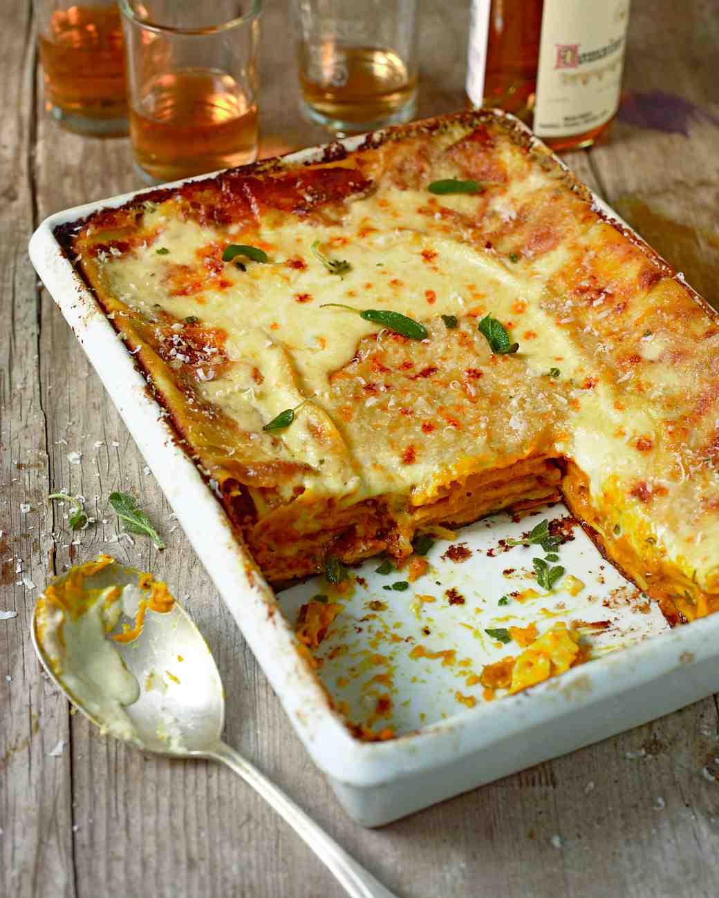 Roasted Butternut Squash Lasagna – PinLaVie.com