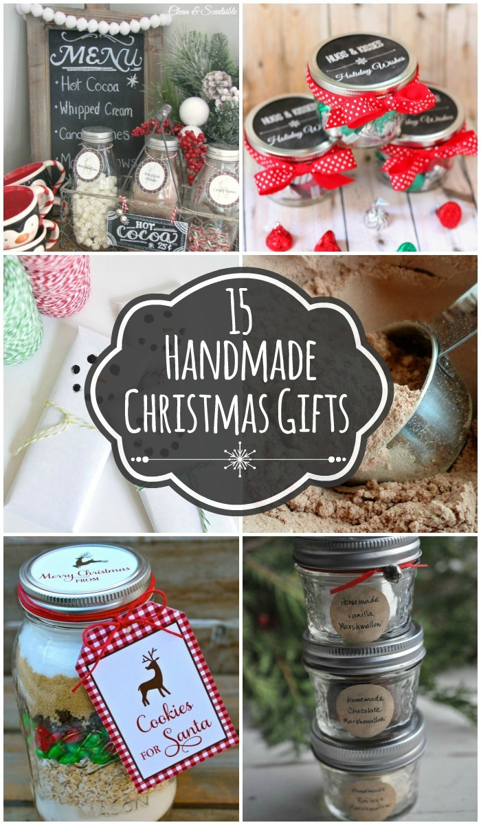 Www Christmas Ideas Decorations For Living Room: 15 Handmade Christmas Gift