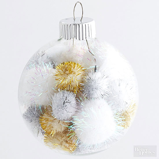 20 Ways to Dress Up Plain Christmas Ornaments - 20 Ways To Dress Up Plain Christmas Ornaments €� PinLaVie.com