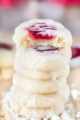 Homemade Strawberry Thumbprint Cookies Pinlavie Com