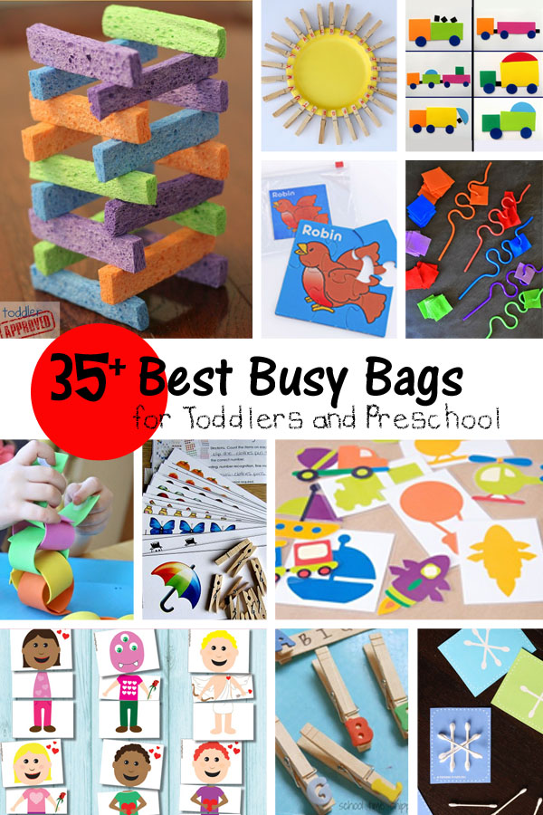 35 Best Gifts For 13 Year Old Boys: 35+ Best Busy Bags For Toddlers & Preschool