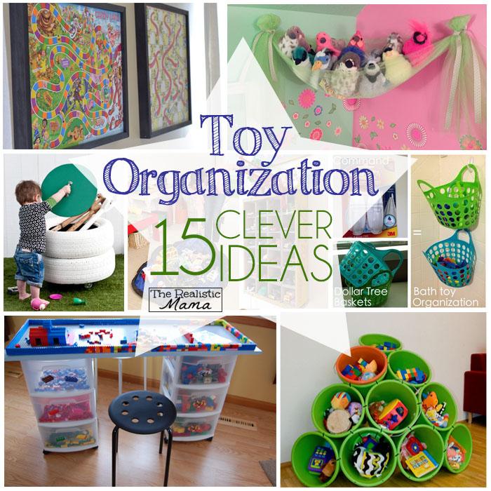 toy organization 15 clever ideas - Toy Organizer Ideas