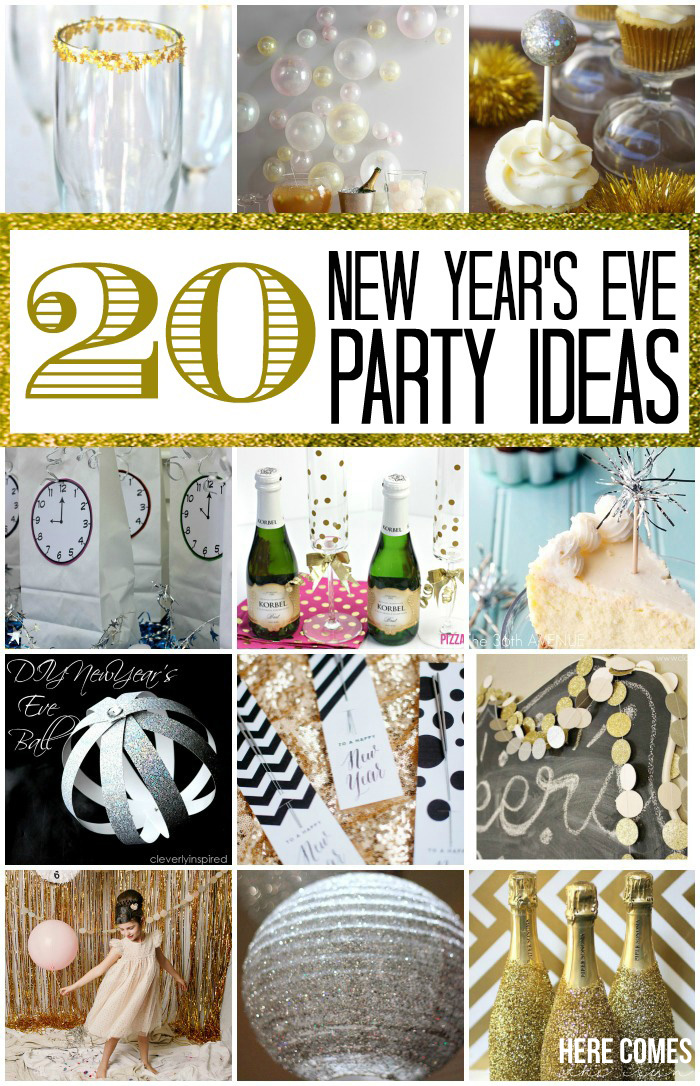 20 new year s eve party ideas - Last minute new year s eve party ideas ...
