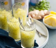 Thumb_pineapple-ginger-cilantro-granita-recipe-gourmandeinthekitchen.com_-590x885