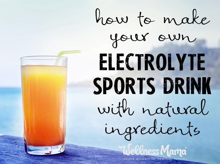 Drinking sports drink