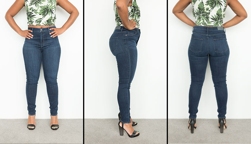 How to make skinny jeans fit perfectly