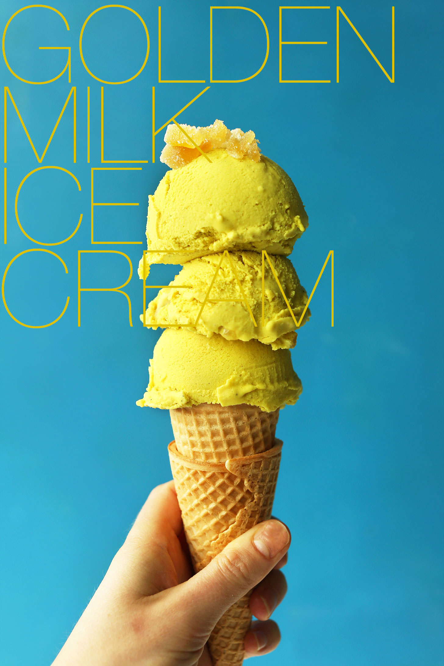Golden Milk Ice Cream Pinlavie Com