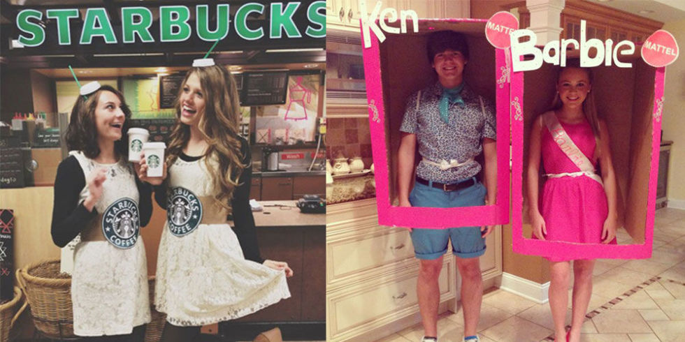 Halloween is so much more fun when you dress up with your bestie!Get  creative with these perfect two,person costumes.