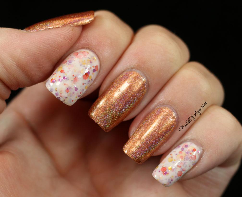 Pumpkin Spice Nail Tutorial – PinLaVie.com