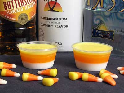 Candy Corn Jello Shots – PinLaVie.com