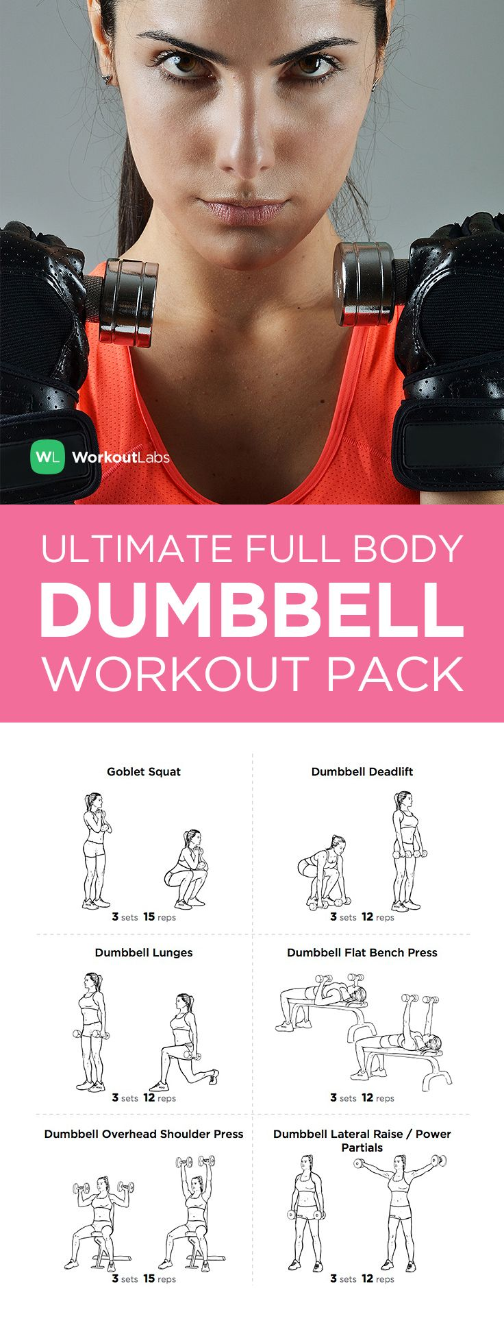 Full Body Dumbbell Workout Routine At Home Pdf | Kayaworkout co