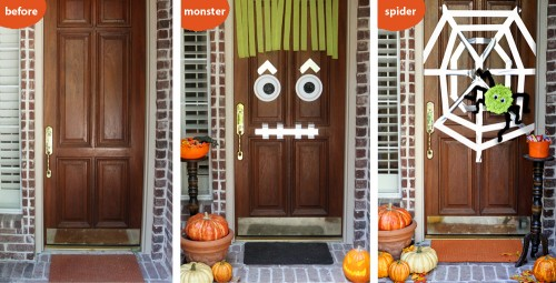 Front Door Mummy & Halloween Inspiration: Silly Monster and Ghost Doors and more ...