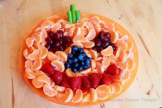 simple fruit salad pumpkin fruit or vegetable