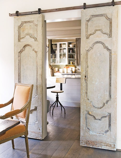 Salvaged doors repurposed for Old wood doors salvaged